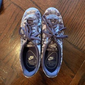 Purple Velvet Nike Cortez